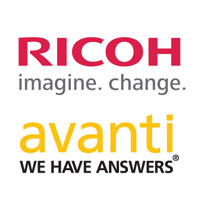 Ricoh and Avanti Logos