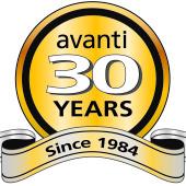 Avanti 30th Anniversary Logo