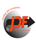 JDF Certified Print MIS Software logo