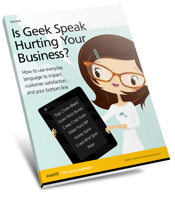 Geek Speak for Print Professionals Cover