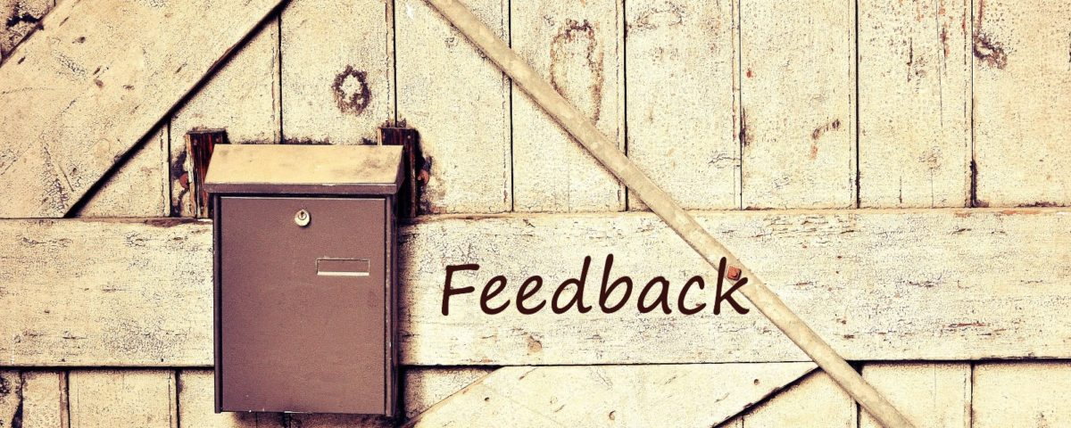 Feedback image with mailbox